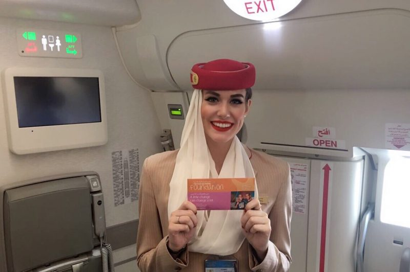 The emirates airline foundation supporting children in need around the world lipstick and luggage - Emirates airlines paris office ...